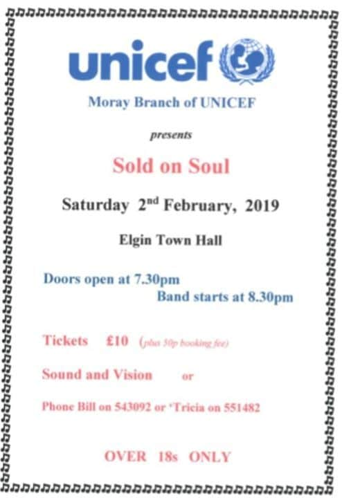 Tomorrow Night we have the excellent Sold on Soul performing at the Hall in…